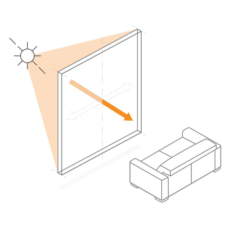 Reduced Rate of UV Fading